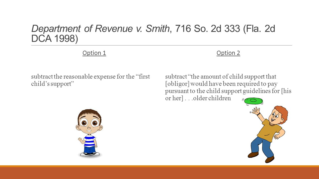 Department of Revenue v. Smith, 716 So. 2d 333 (Fla.