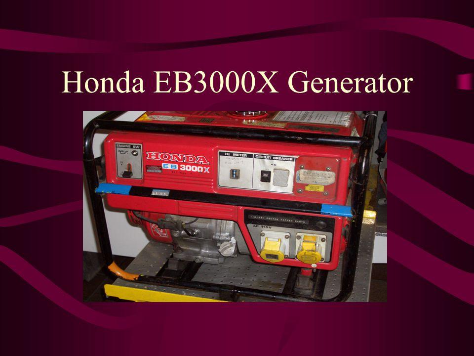 Honda EB3000X Generator