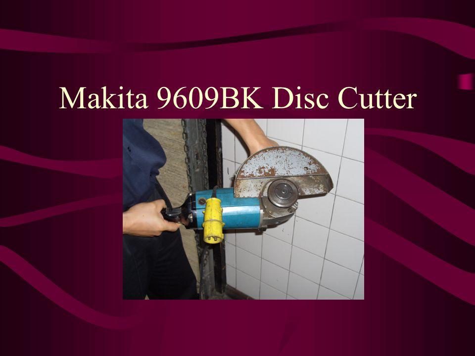 Makita 9609BK Disc Cutter