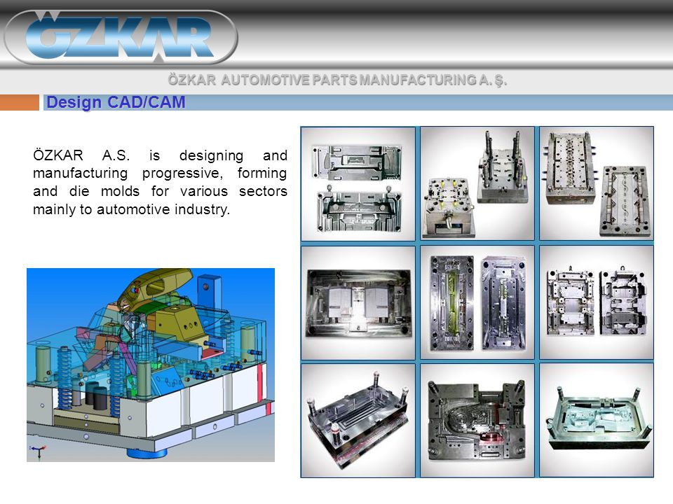 Design CAD/CAM ÖZKAR A.S.