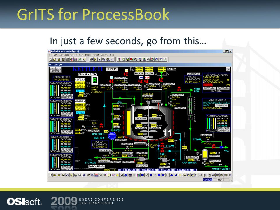 GrITS for ProcessBook In just a few seconds, go from this…