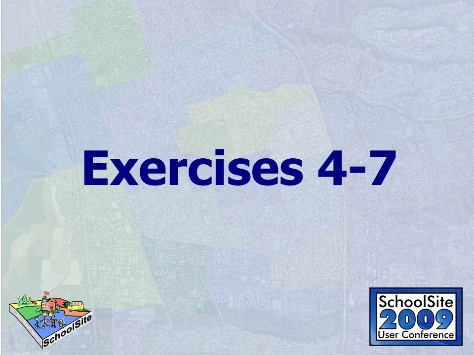 Exercises 4-7