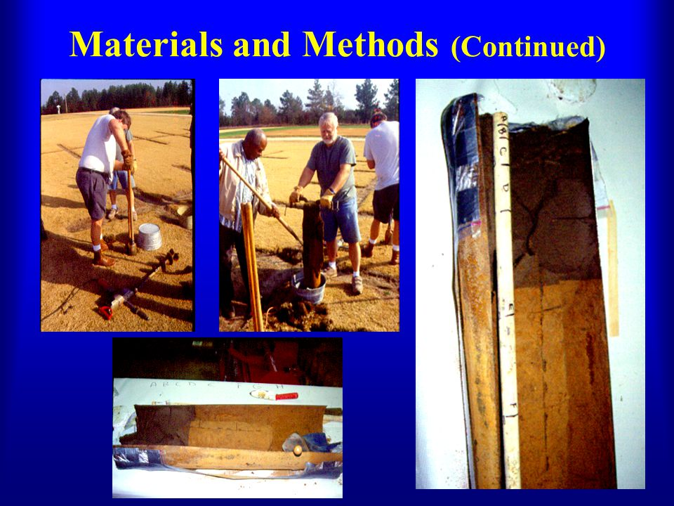 Materials and Methods (Continued)