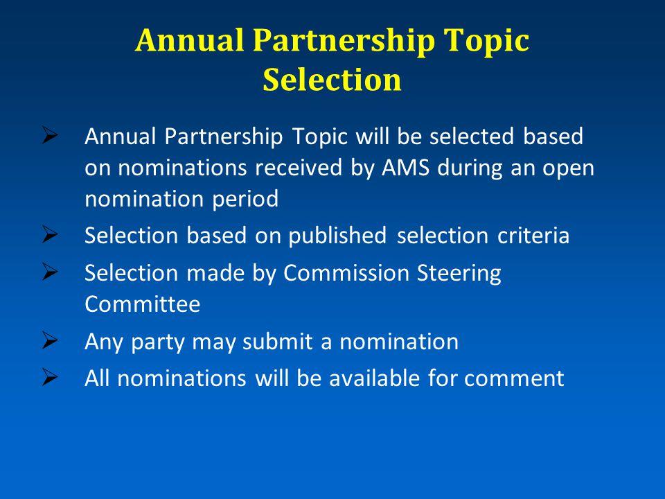 Topic Committee Membership