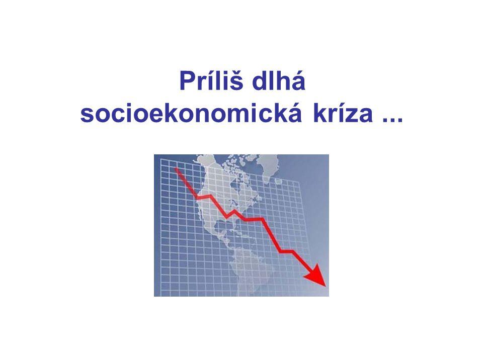 Príliš dlhá socioekonomická kríza...