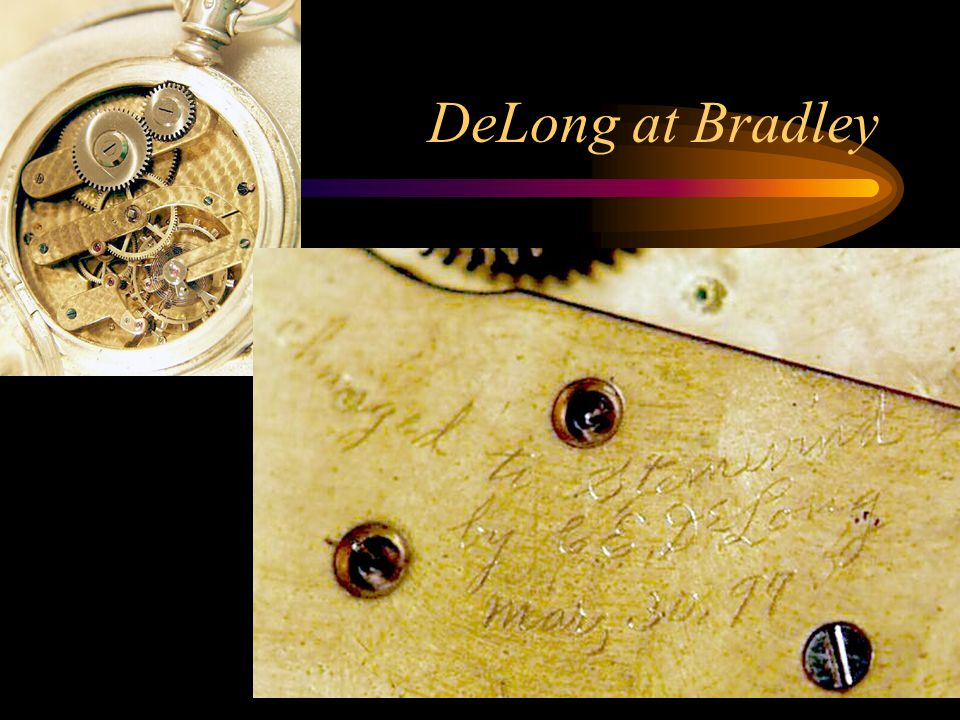 DeLong at Bradley