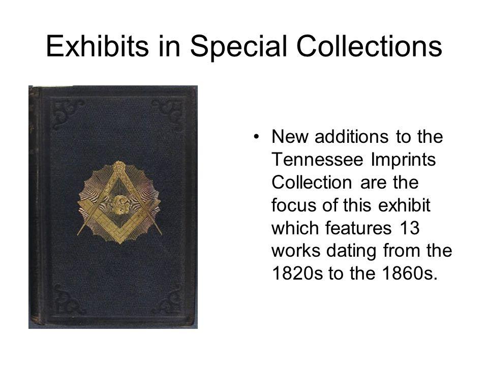 Collection development blog