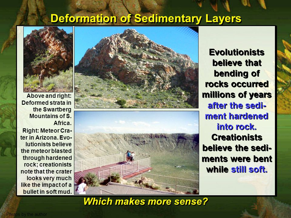Deformation of Sedimentary Layers Which makes more sense.