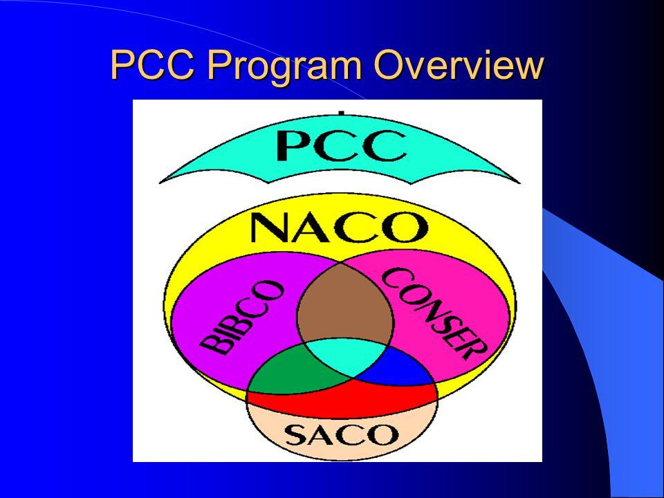 PCC Program Overview