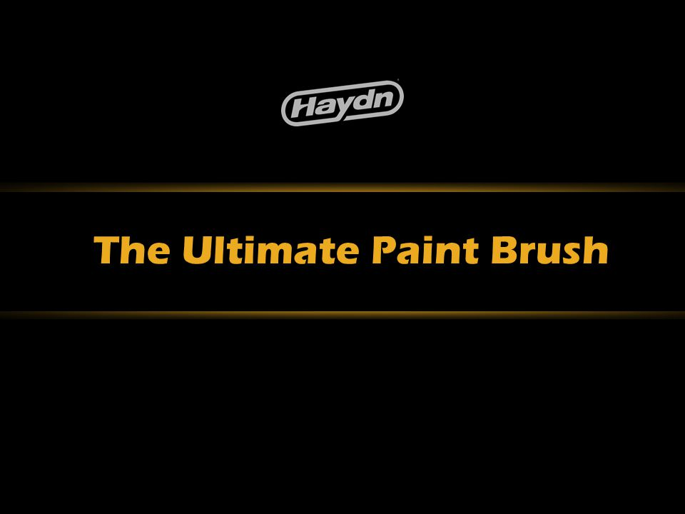 The Ultimate Paint Brush