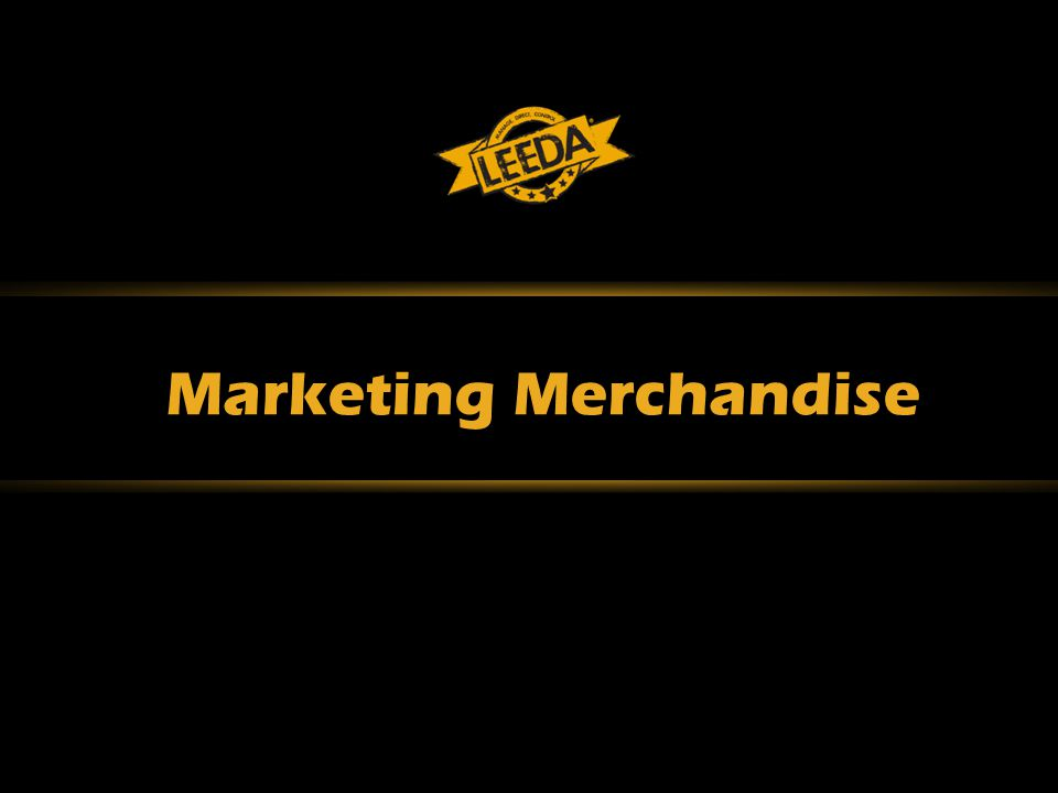 Marketing Merchandise