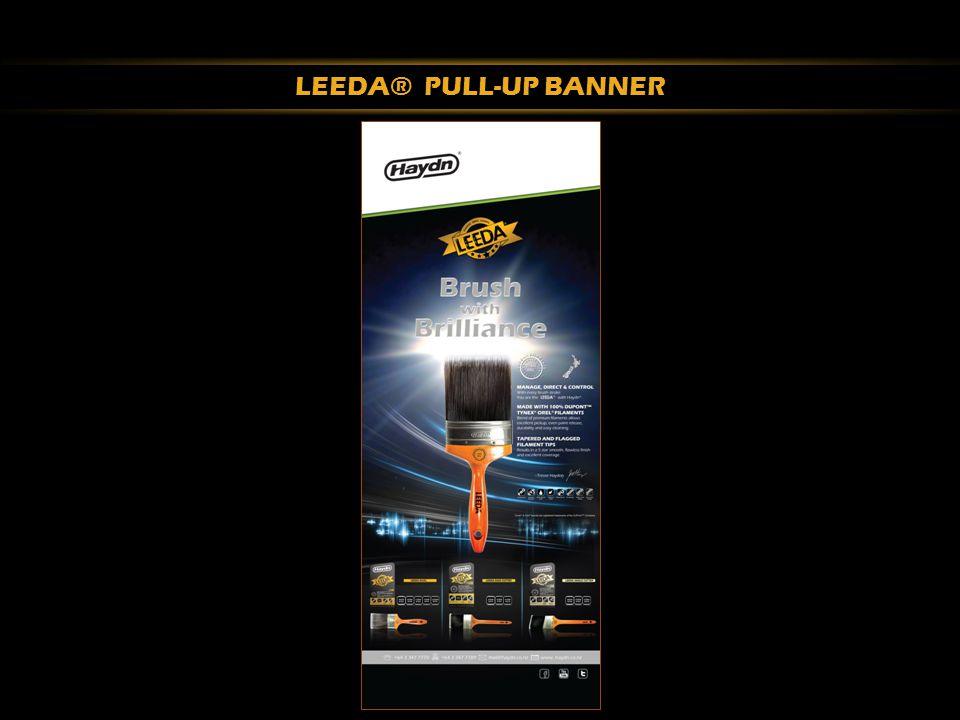 LEEDA® PULL-UP BANNER