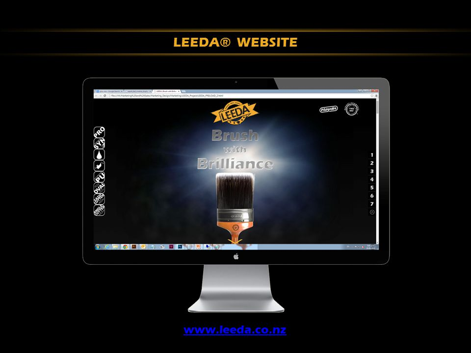 LEEDA® WEBSITE www.leeda.co.nz