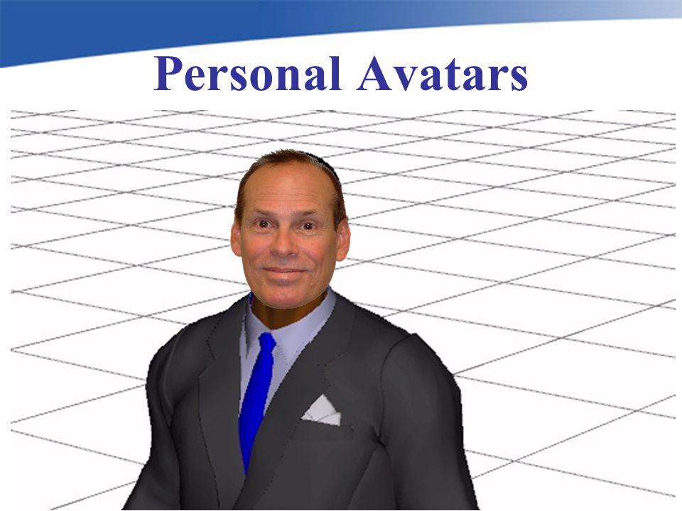 Personal Avatars