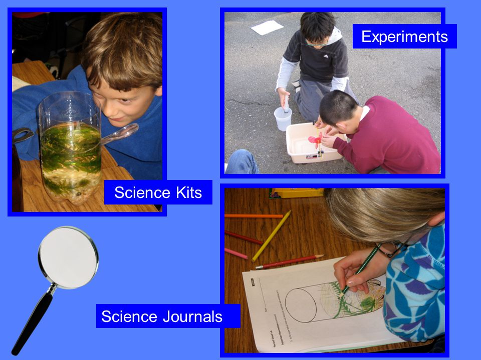 Science Kits Science Journals Experiments