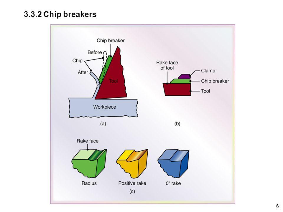 3.3.2 Chip breakers 6