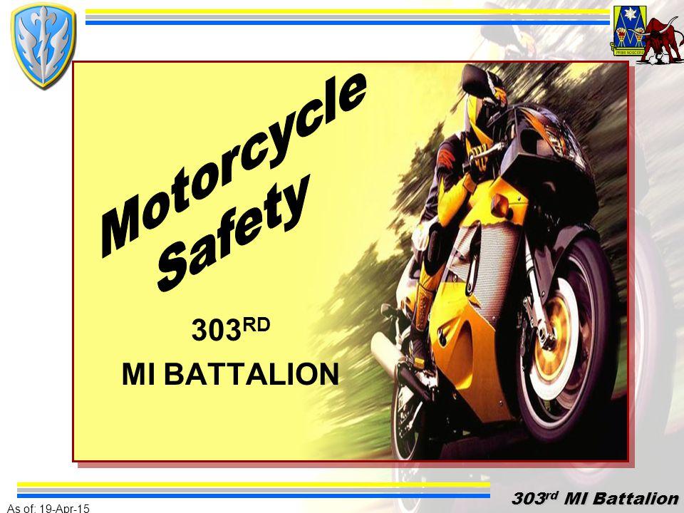 As of: 19-Apr-15 303 rd MI Battalion 303 rd MI Battalion 303 RD MI BATTALION