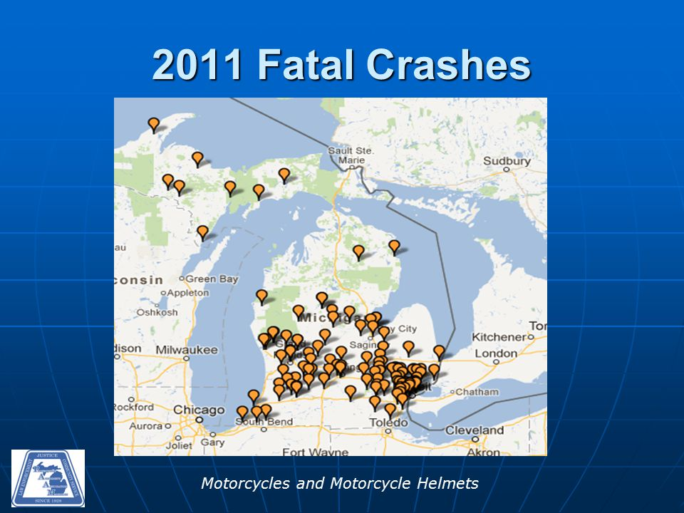 Motorcycles and Motorcycle Helmets 2011 Fatal Crashes