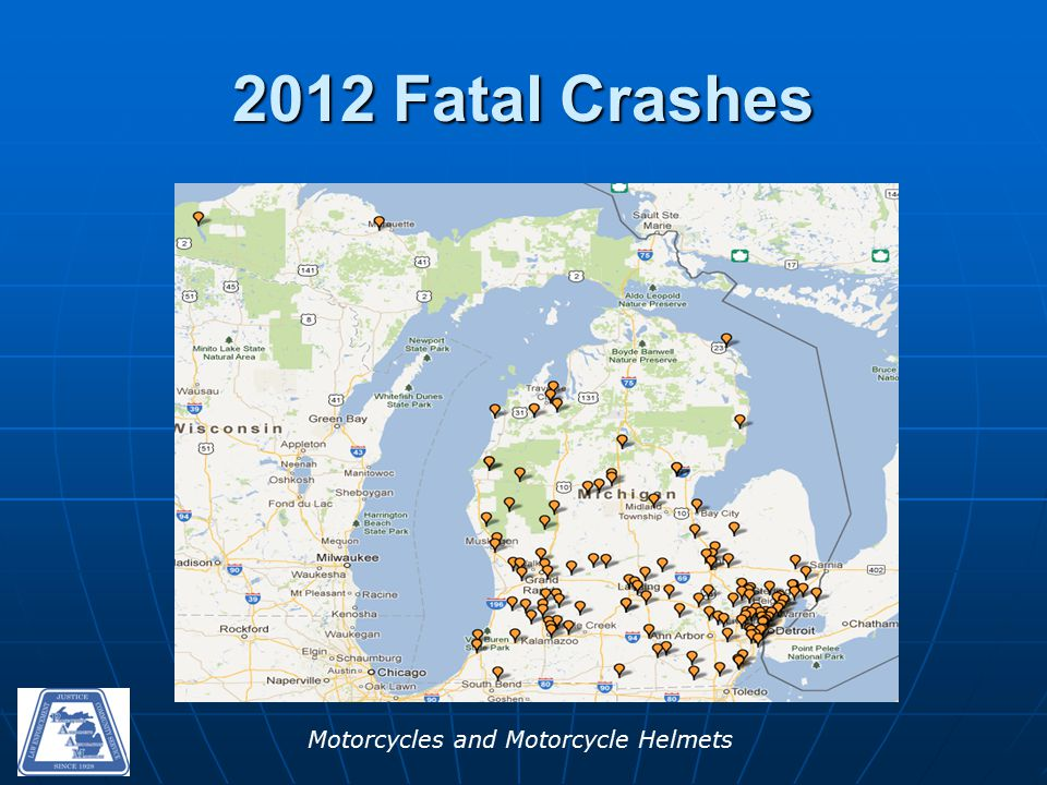 Motorcycles and Motorcycle Helmets 2012 Fatal Crashes