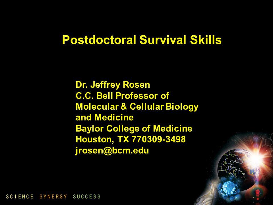 Dr. Jeffrey Rosen C.C.