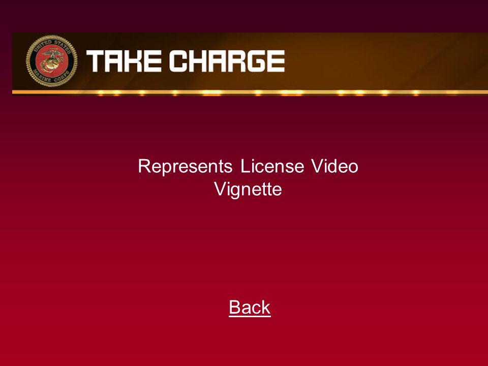 Represents License Video Vignette Back