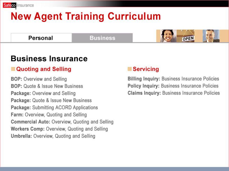 Business Insurance Curriculum