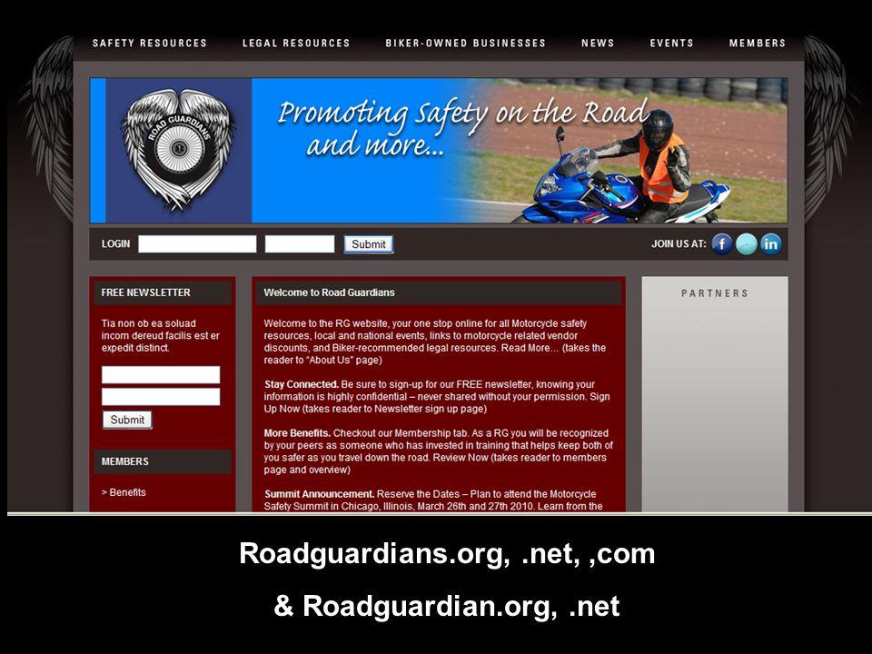 Roadguardians.org,.net,,com & Roadguardian.org,.net