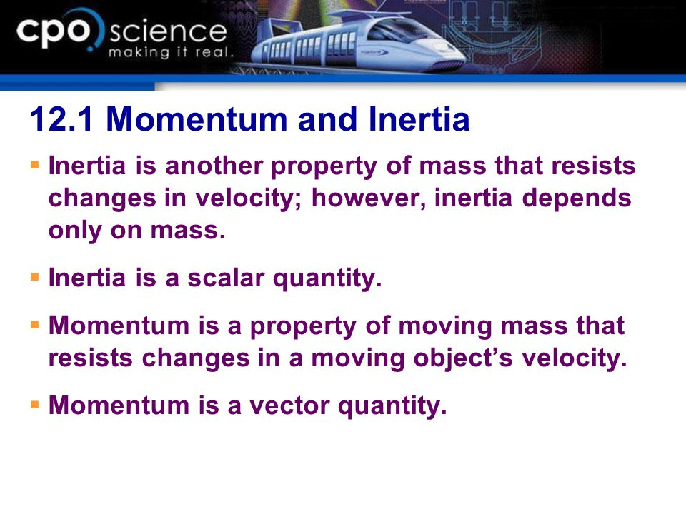 12.2 Force and Momentum Change To find the impulse, you rearrange the momentum form of the second law.