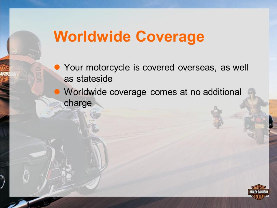 Complete Coverage Over 1,100 parts on your motorcycle are covered— fender-to-fender Example: $5,000 engine repair—COVERED Example: $500 brake caliper repair— COVERED All you pay is a low $50 deductible* Plus: there's no deductible for any covered parts that have previously been repaired or replaced under the service plan *Restrictions and limits apply