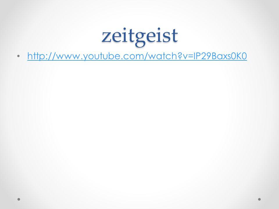 zeitgeist http://www.youtube.com/watch v=IP29Baxs0K0
