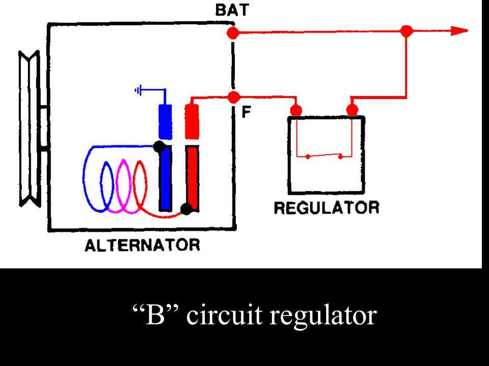 """""""B"""" circuit regulator"""