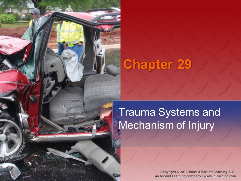 Chapter 29 Trauma Systems and Mechanism of Injury