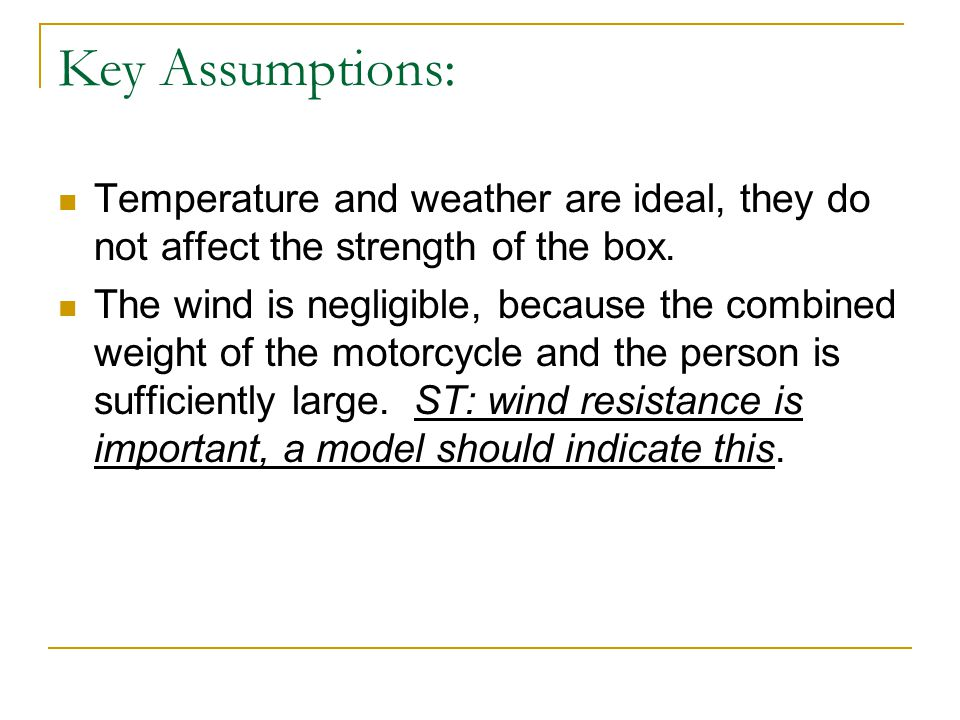 What methodology was used.Cardboard boxes were modeled as springs.