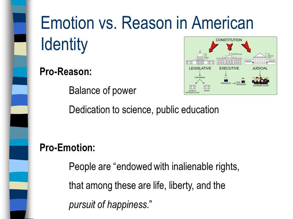Emotion vs.