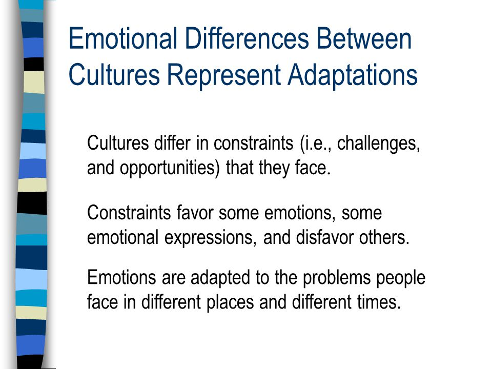 Emotions During the Enlightenment 1.Reason and rationality great equalizers 2.