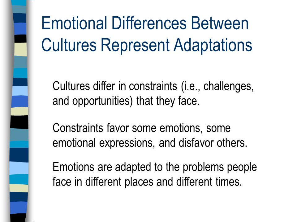 Moral Emotions: Shame vs.Guilt Asian vs.