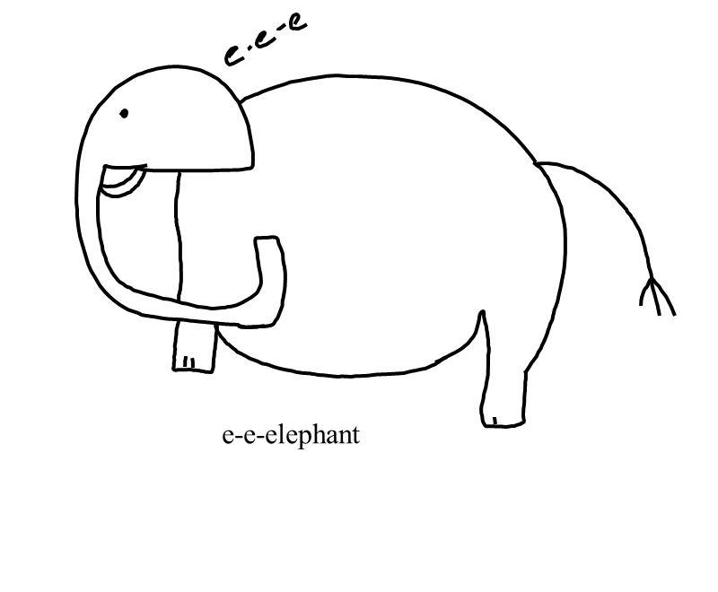 e-e-elephant