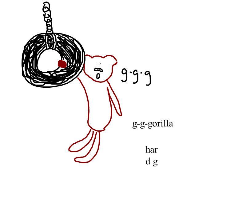 g-g-gorilla har d g