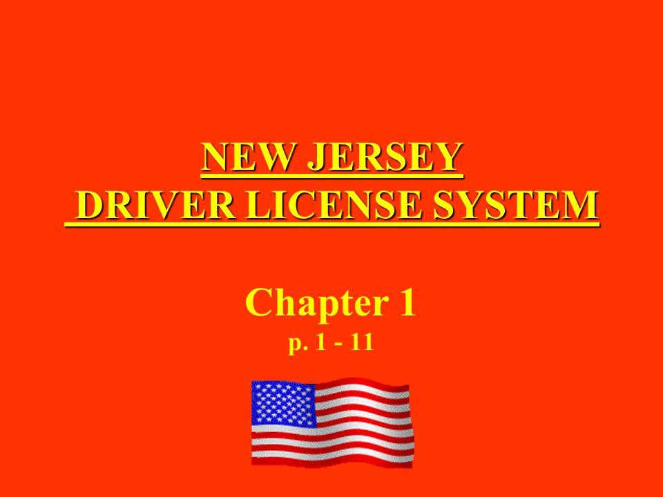 Motorist must always carry a… while operating a vehicle on New Jersey's roadways.