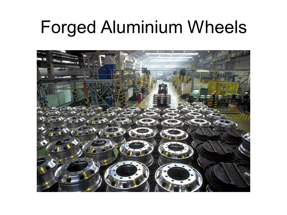 Forged Aluminium Wheels