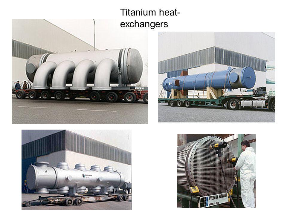 Titanium heat- exchangers