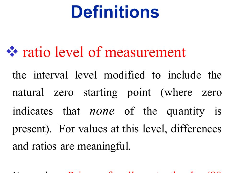  interval level of measurement like the ordinal level, with the additional property that the difference between any two data values is meaningful. Ho