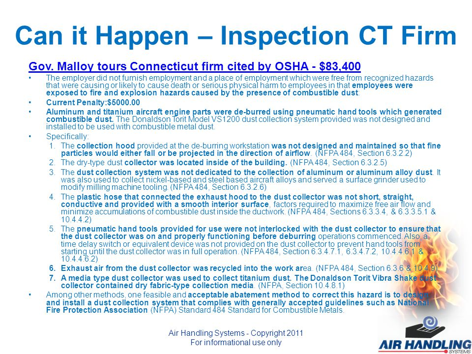 Can it Happen – Inspection CT Firm Gov.