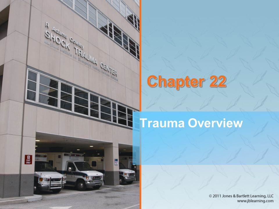 Management: Transport and Destination (3 of 8) Destination selection –Level I facility Serves large cities or heavily populated areas Provides every aspect of trauma care Usually university-based hospitals –Level II facility Located in less population-dense areas Provides initial definitive care