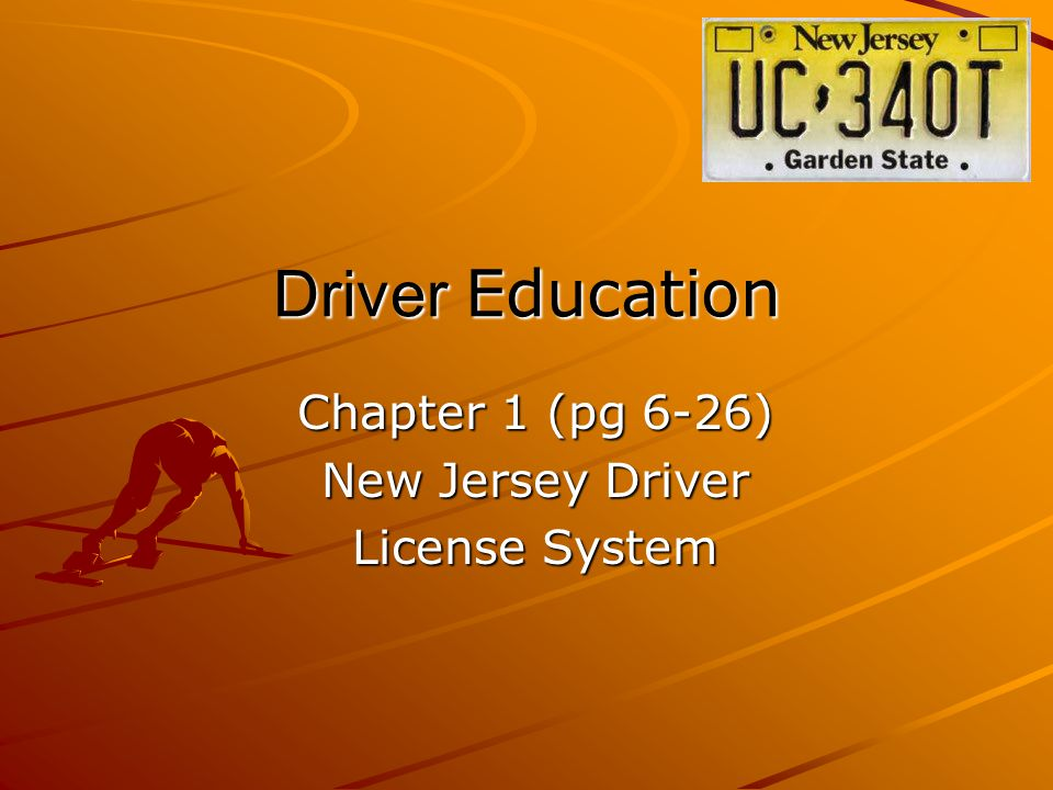 Laws Governing Driver Licenses A motorist who operates a vehicle in the state of New Jersey must carry: - -A valid driver license OR - -A valid provisional license OR - -A validated New Jersey permit The motorist must also carry: - -Valid auto insurance AND - -Vehicle registration cards