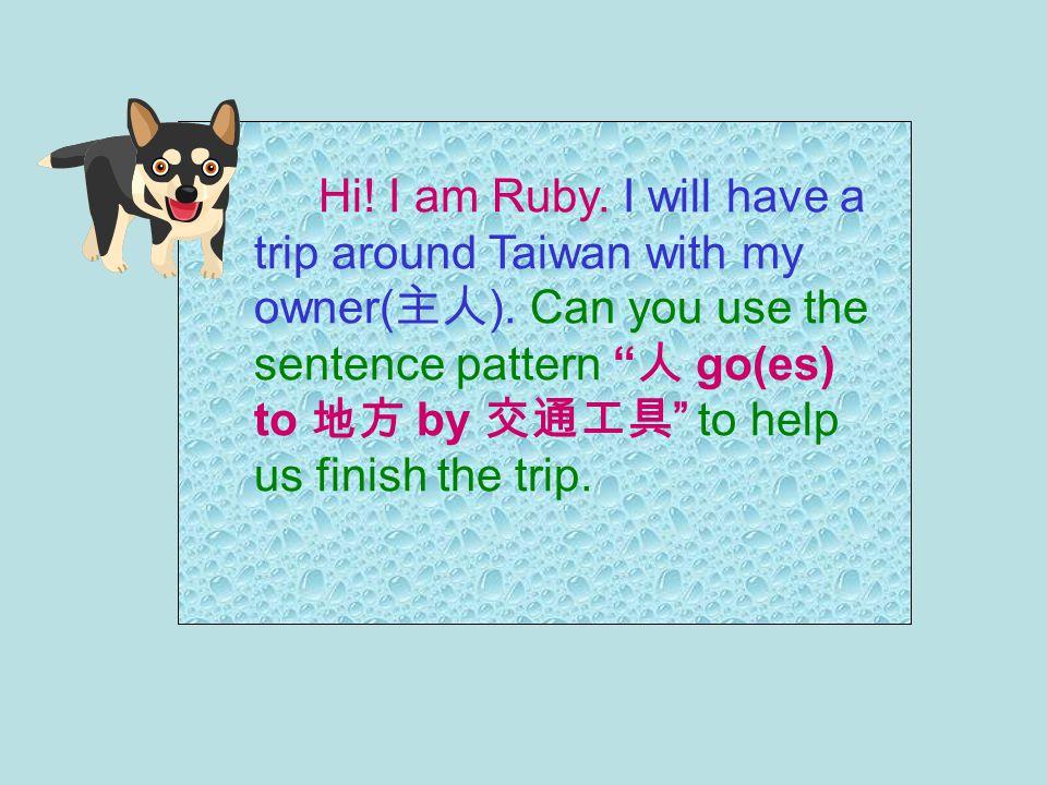 Amy goes to school on foot. 人 go(es) to 地方 on foot.