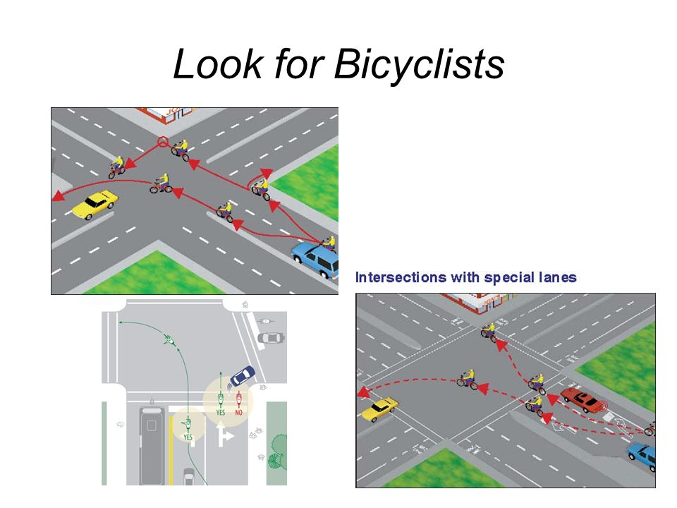 Look for Bicyclists