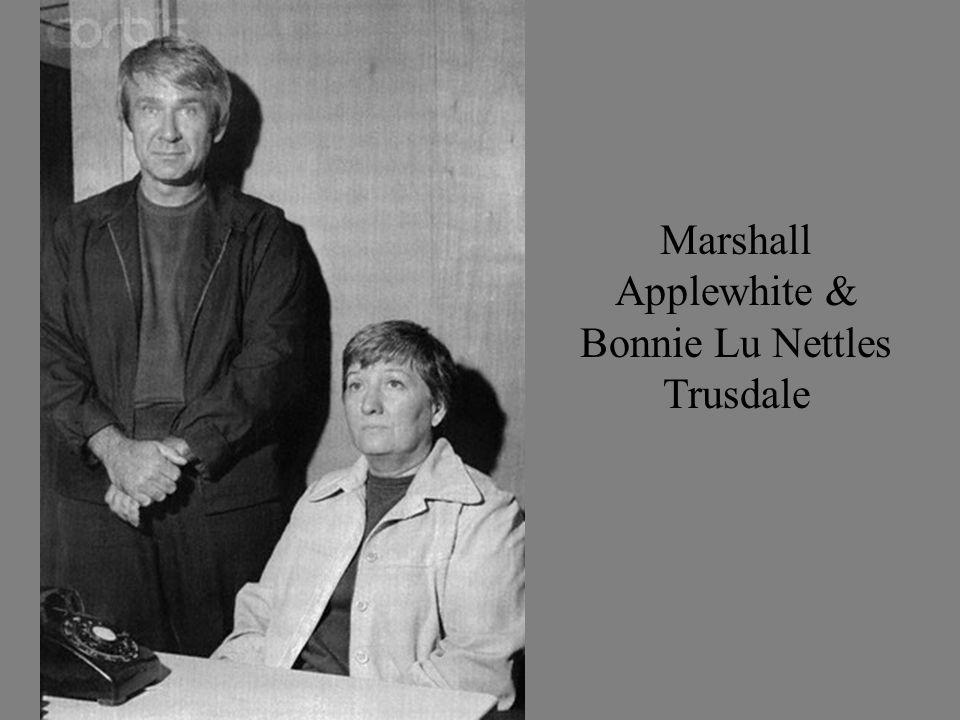 Marshall Applewhite & Bonnie Lu Nettles Trusdale