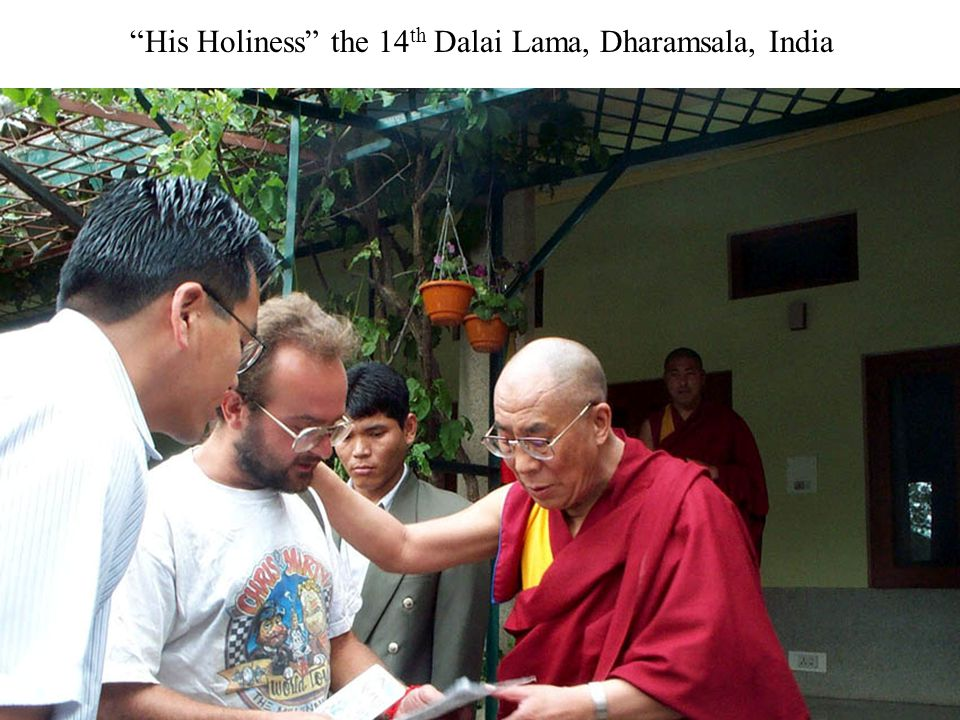 """His Holiness"" the 14 th Dalai Lama, Dharamsala, India"