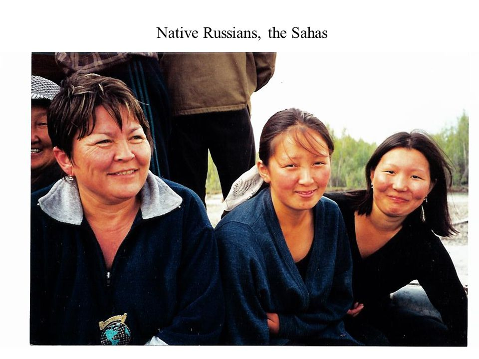 Native Russians, the Sahas